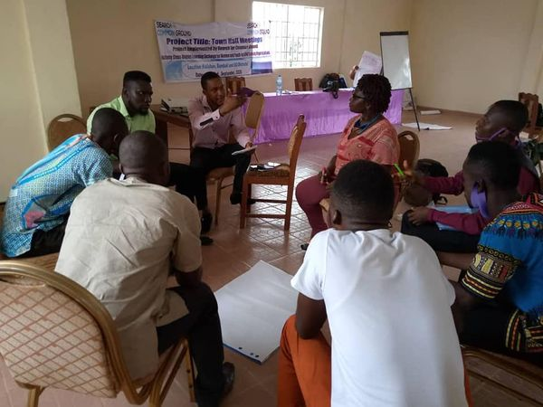 Cross district learning exchange for women and youths