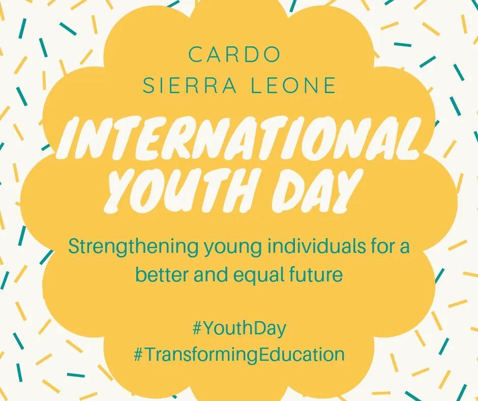 Happy international youth day